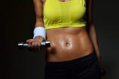 Donna di forma fisica Immagini Stock