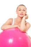 Donna di forma fisica Fotografia Stock