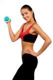 Donna di forma fisica. Fotografia Stock