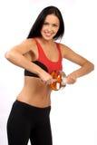 Donna di forma fisica. Immagini Stock