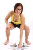 Donna di forma fisica Immagine Stock
