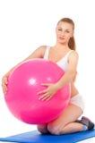 Donna di forma fisica di sport Immagine Stock Libera da Diritti