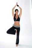 Donna di ginnastica Fotografia Stock
