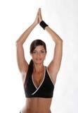Donna di ginnastica Immagini Stock