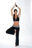 Donna di ginnastica Fotografie Stock Libere da Diritti