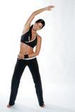 Donna di ginnastica Immagine Stock