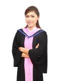 Donne di graduazione con il vestito di grado Immagini Stock