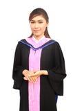Donne di graduazione con il vestito di grado Fotografia Stock