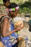 Donna di Hadzabe Immagine Stock Libera da Diritti