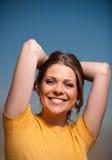 Donna di Healhty Fotografia Stock