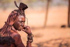 Donna di Himba Fotografie Stock Libere da Diritti