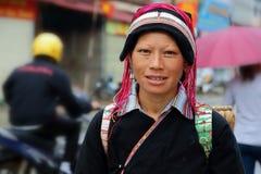 Donna di Hmong Fotografia Stock Libera da Diritti