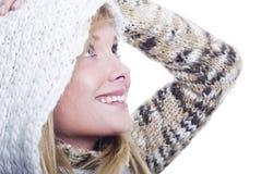 Donna di inverno Immagini Stock Libere da Diritti