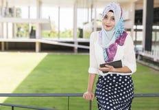 Donna di Islam Fotografie Stock Libere da Diritti