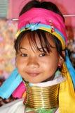 Donna di Kayan Fotografia Stock