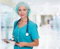 Donna di medico fotografia stock
