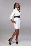 Donna di modo di affari. fotografia stock