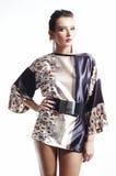 Donna di modo - stile dell'Asia - illuminazione alternativa Immagini Stock