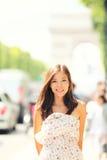 Donna di Parigi Fotografia Stock