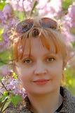 Donna di Portait Fotografia Stock Libera da Diritti