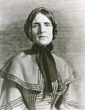 Donna di Quaker immagine stock libera da diritti