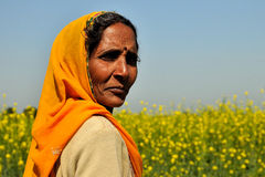 Donna di Rajasthani Fotografia Stock