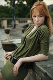 donna di redhead immagini stock