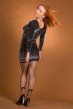 Donna di Redhead Fotografie Stock Libere da Diritti