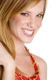 Donna di Redhead Fotografia Stock