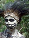 Donna di scheletro Immagini Stock
