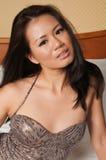 Donna di Singapore Fotografie Stock