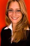 Donna di Smalling Fotografia Stock