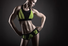 Donna di sport immagini stock
