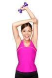 Donna di sport di forma fisica Fotografie Stock Libere da Diritti