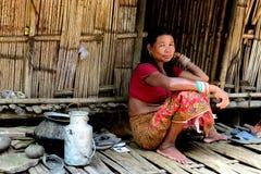 Donna di Toto Tribes Immagini Stock