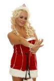 Donna e gioielli Immagini Stock