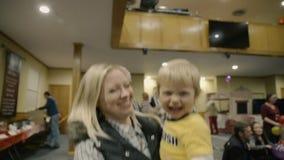 Donna e neonato Fotografie Stock Libere da Diritti
