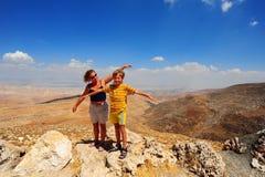 Donna e ragazzo Fotografia Stock Libera da Diritti