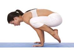 Donna e yoga Immagine Stock Libera da Diritti