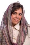 Donna ebrea bella Fotografie Stock