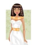 Donna egiziana Illustrazione di vettore Illustrazione di Stock