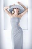 Donna elegante. immagine stock