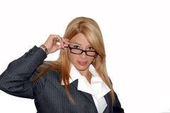 Donna esecutiva II Fotografia Stock Libera da Diritti