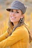 Donna esterna, autunno Fotografia Stock Libera da Diritti