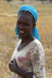 Donna etiopica, Etiopia, Africa Immagini Stock Libere da Diritti