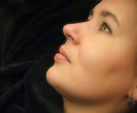 Donna felice Fotografie Stock Libere da Diritti