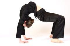 Donna flessibile Immagini Stock