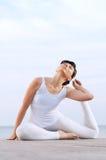Donna flessibile ed in buona salute Immagine Stock Libera da Diritti
