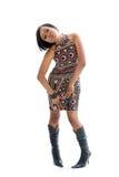 Donna Funky 70s Fotografia Stock