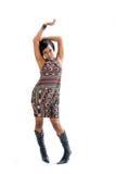 Donna Funky 70s Immagini Stock